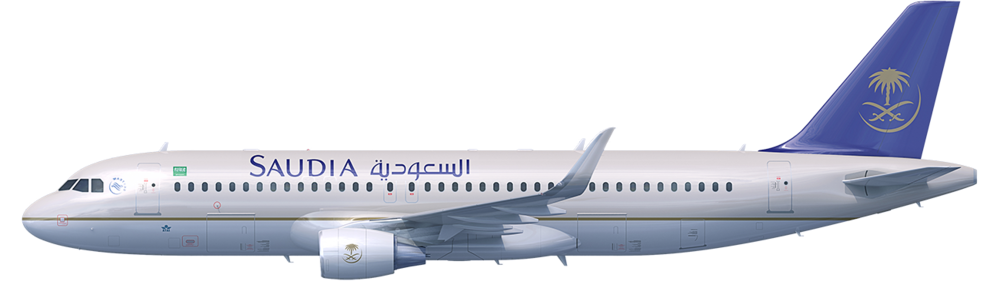 Saudi Arabian Airlines A320