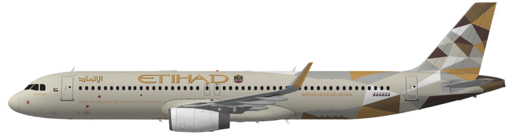Etihad Airways A321-200