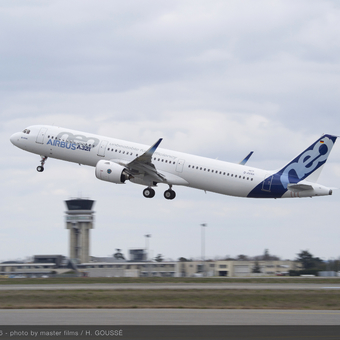 A321neo takes to the sky for the first time
